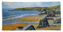 Bedruthan Steps Bath Towel