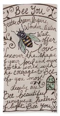 Bee You Hand Towel
