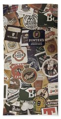Beers Of The World Hand Towel by Nicklas Gustafsson