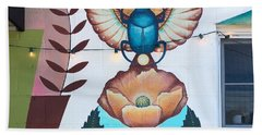 Beetleflower Bath Towel