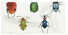 Beetles Hand Towel