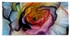 Begonia Blossom Bath Towel by Jim Pavelle