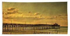 Behind Cherry Grove Pier  Hand Towel