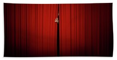 Behind The Curtain Hand Towel