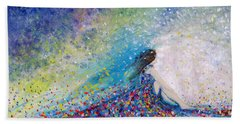 Being A Woman - #5 In A Daydream Bath Towel by Kume Bryant
