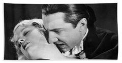 Bela Lugosi  Dracula 1931  Feast On Mina Helen Chandler Bath Towel