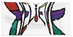 Believe-butterfly Hand Towel
