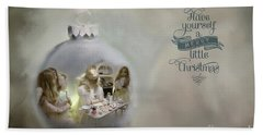 Believe In The Magic Of Christmas Hand Towel