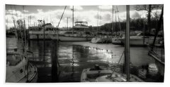 Bell Haven Docks Hand Towel