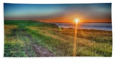 Bell Island Sunset  Bath Towel