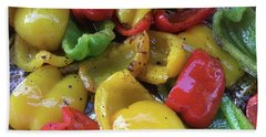 Bell Peppers Original Iphone Photo Hand Towel