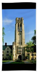 Bell Tower At The University Of Toledo Bath Towel