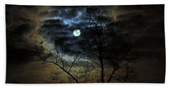 Bella Luna Hand Towel by Suzanne Stout