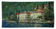 Bellano On Lake Como Hand Towel
