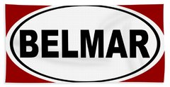 Belmar New Jersey Home Pride Hand Towel