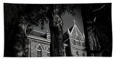 Hand Towel featuring the photograph Belmont Abbey by Jessica Brawley