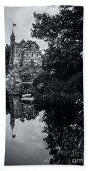 Belvedere Castle And The Turtle Pond Hand Towel