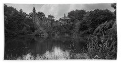 Belvedere Castle Central Park Nyc  Hand Towel