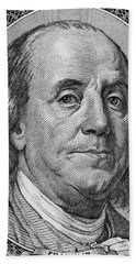 Hand Towel featuring the photograph Ben Franklin by Les Cunliffe