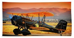 Ben Scott's Stearman Speedmail 4e Version 2 Bath Towel