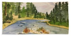 Bend In The River Hand Towel