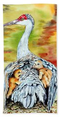 Beneath My Wings Hand Towel