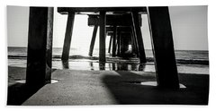Beneath The Pier Hand Towel