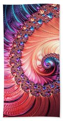 Beneath The Sea Spiral Bath Towel