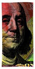 Benjamin Franklin - $100 Bill Hand Towel