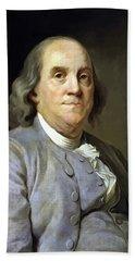Benjamin Franklin Painting Hand Towel