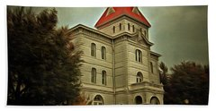 Benton County Courthouse Hand Towel by Thom Zehrfeld