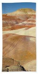 Bentonite Hills  Capitol Reef N P Bath Towel