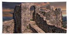 Berat Castle Hand Towel