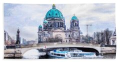 Berliner Dom Bath Towel