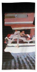 Bath Towel featuring the photograph Bermuda Carriage Impressions by Ian  MacDonald