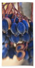 Berries Blue Too Hand Towel