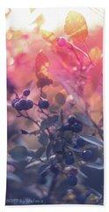 Berries In The Sun Bath Towel