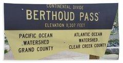 Berthoud Pass Hand Towel