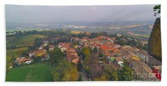 Bertinoro View -romagna Bath Towel