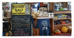 Hand Towel featuring the photograph Best Cafe by Betsy Zimmerli