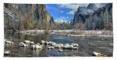 Best Valley View Yosemite National Park Image Hand Towel