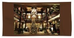 Best Western Plus Windsor Hotel Lobby - Christmas Hand Towel