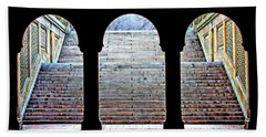 Bethesda Terrace Arcade Hand Towel by Suzanne Stout