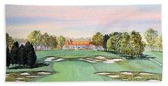 Bethpage State Park Golf Course 18th Hole Bath Towel