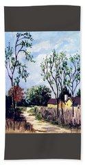 Between Seasons Hand Towel by Jim Phillips