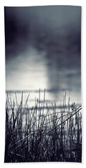 Hand Towel featuring the photograph Between The Waters by Trish Mistric