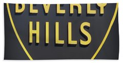 Beverly Hills Sign Hand Towel