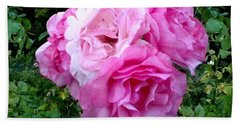 Bevy Of Roses Bath Towel