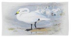 Bewick Swan By Thorburn Hand Towel