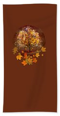 Starry Tree Hand Towel